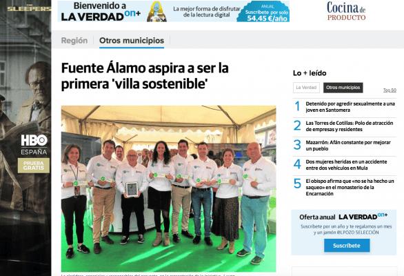 Fuente Álamo aspira a ser la primera 'villa sostenible'