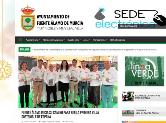 Fuente Álamo inicia su camino para ser la primera villa sostenible de España