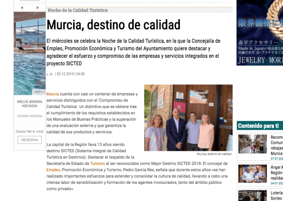 Murcia, destino de calidad - Marevents